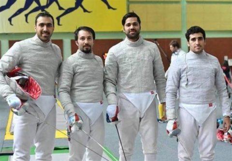 تیم سابر ایران به مدال نقره دست یافت