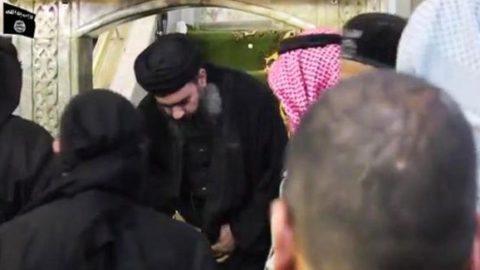 اشکهایی که مرگ البغدادی را فاش کرد