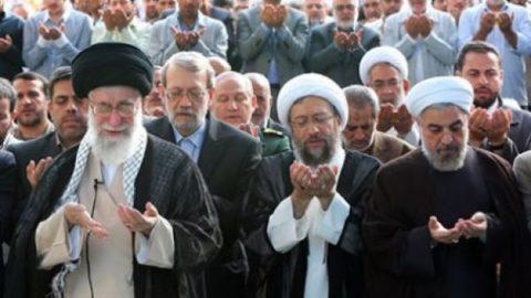 کدام شخصیتها در مراسم نماز عید عید فطر امروز حضور داشتند؟