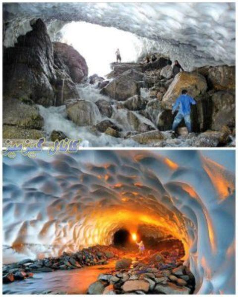 «تونل برفی» ازنا ریزش کرد/۲ نفر کشته شدند
