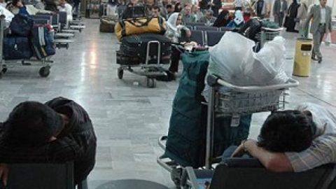 تاخیر ۳۹۰ دقیقه ای پرواز شیراز به تهران هواپیمایی زاگرس