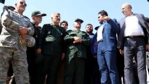 فرمانده کل سپاه از طرح ساماندهی آبهای غرب کشور بازدید کرد