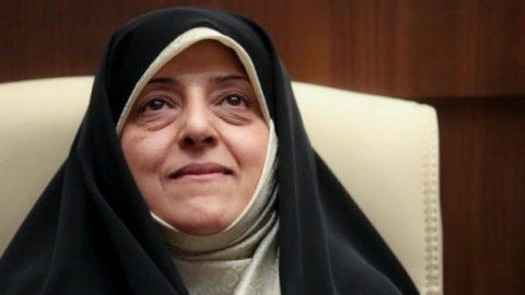 دو توئیت معصومه ابتکار درباره تخریب های علیه دولت روحانی