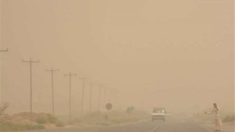 طوفانهای ۱۲۰ روزه همچنان در زابل گردوخاک به پا میکند