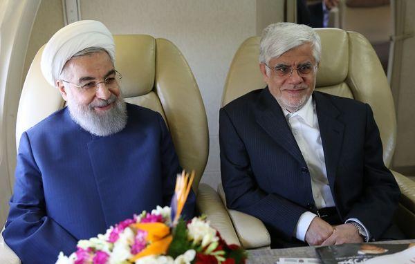 آغازی-بر-پایان-یک-ماه-عسل-سیاسی-/-کنایه-های-عارف-به-روحانی،-در-آستانه-معرفی-کابینه