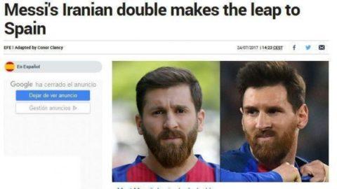 بدل ایرانی مسی به نیوکمپ میرود+عکس