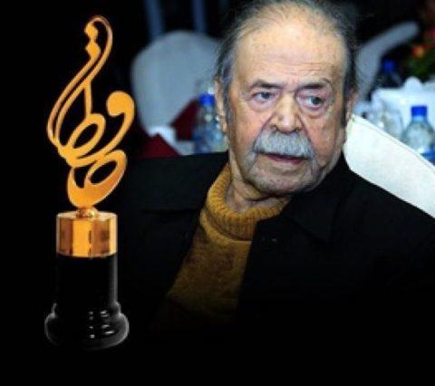 قدردانی از یک عمر فعالیت هنری محمدعلی کشاورز در جشن حافظ