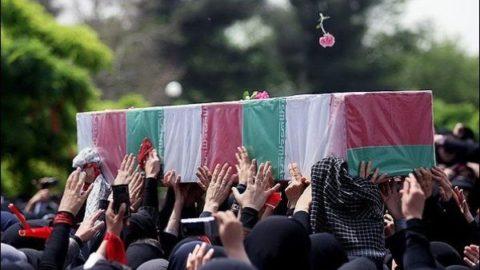 تشییع همزمان پیکرهای ۲۰۰ شهید در نقاط مختلف کشور