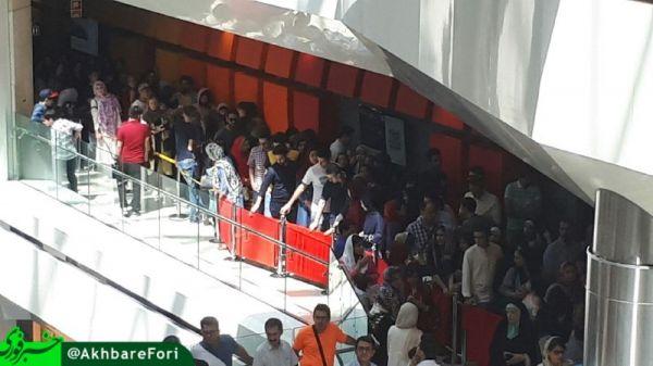 لحظه-ورود-مهران-مدیری-به-پردیس-سینمایی-کوروش+فیلم