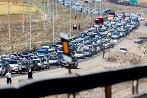 وضعیت ترافیکی راهها/ مرزنآباد به کرج یکطرفه شد