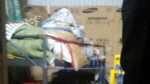 زن ۳۰۰ کیلویی با خاور به بیمارستان رفت/ ساخت تخت فلزی برای انتقال