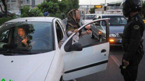 پلیس: درون خودرو حریم خصوصی نیست؛برخی مراجع: درون خودرو حریم خصوصی است