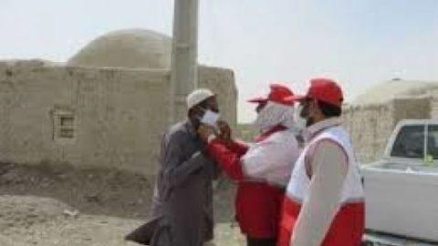 به علت گرد و غبار شدید در زابل، ۵ هزار ماسک توزیع شد