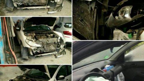 حادثه رانندگی برای نماینده دماوند در مجلس+عکس