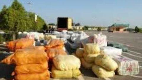 کشف ۱۴ تن نخود قاچاق در ایرانشهر