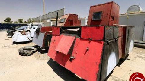 خودروهای عجیب داعشیها+ تصاویر