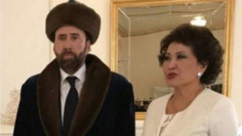نیکلاس کیج قزاق شد/ عکس