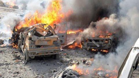 انفجار خودروی بمب گذاری شده در اعزاز سوریه