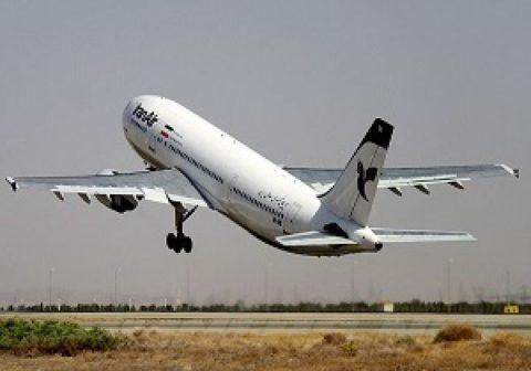 عبور روزانه ۱۱۰۰ پرواز از آسمان ایران