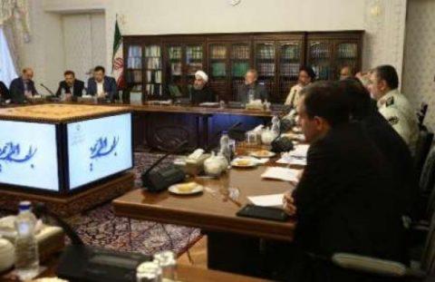 روحانی: فضای مجازی را نمی توان از زندگی مردم حذف کرد/ گزارش اقدامات انجام شده برای تحقق شبکه ملی اطلاعات ارائه شود