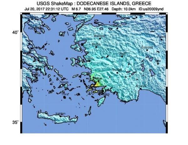 زلزله-6.7-ریشتری-در-بدروم-ترکیه