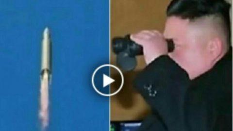 فیلم/ آزمایش اولین موشک بالستیک بین قاره ای کره شمالی
