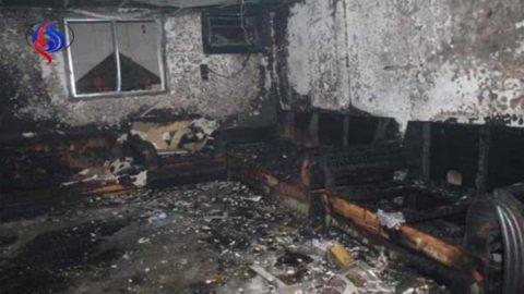 تخلیه ۱۲۰ نفر از یک زائرسرا در مدینه منوره به دنبال آتش سوزی