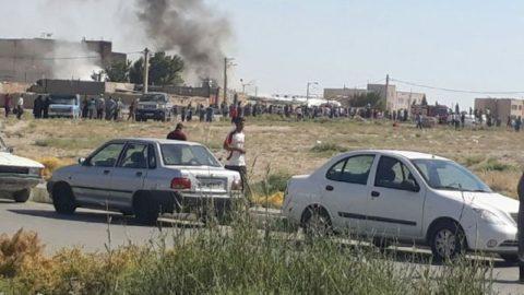 وحشت مردم شهریار از انفجار مهیب در شرکت گاز