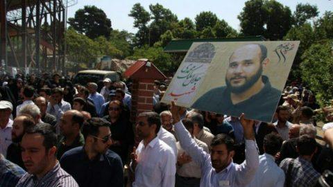 تشییع پیکر شهید ملک محمدی