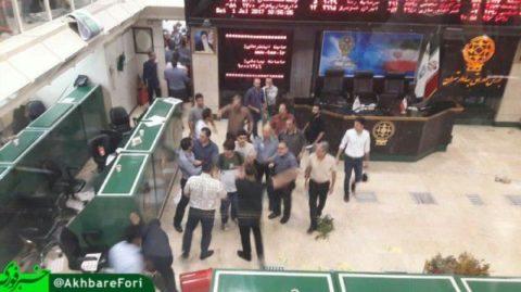 معاون بورس اوراق بهادار تهران : توقف یک نماد بورسی باعث اعتراضات امروز تالار شیشه ای ؛ اعتراض به کلیات بازار کذب است