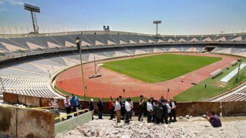 وضعیت نابسامان استادیوم آزادی ۲۴ ساعت پیش از برگزاری سوپرجام