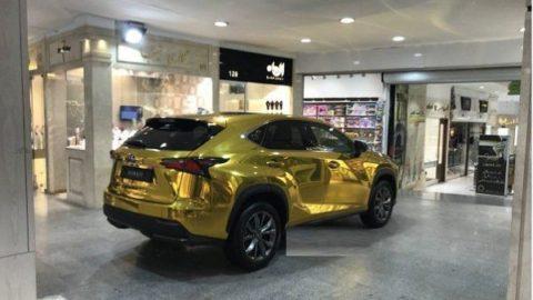داستان «لکسوس طلایی» در تجریش تهران چیست؟