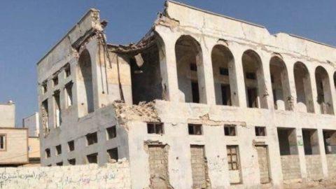 عکس/ خسارات زلزله بوشهر در دیّر
