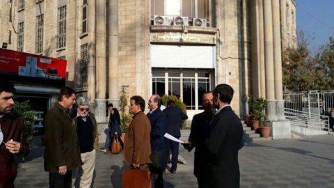 حضور حمید بقایی، علیاکبر جوانفکر و حبیب خراسانی در شعبه چهارم دادسرای فرهنگ و رسانه