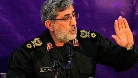 """جانشین سردار سلیمانی از  عبارت """"کاغذ پاره"""" استفاده کرد/سردار قاآنی: برای کاغذپارههایی که واژه صلح روی آن نوشته شده مذاکره نمیکنیم"""