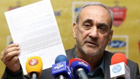 گرشاسبی: به زندان انداختن طارمی در شأن باشگاه پرسپولیس نبود/ منتظر نامه الغرافه هستیم