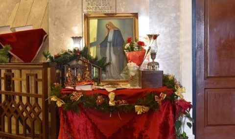 تصاویر/ مراسم آغاز سال نو میلادی در کلیسای گریگور مقدس