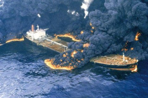 اسامی کامل سرنشینان نفتکش حادثه دیده +تصاویر