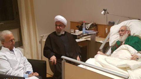 آيت الله شاهرودي در كدام كشور درمان مي شود؟