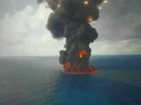 پایان غمبار سانچی/ کشتی نفتکش به طور کامل غرق شد