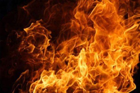 عاملان آتش سوزی امامزاده شهر کرد دستگیر شدند
