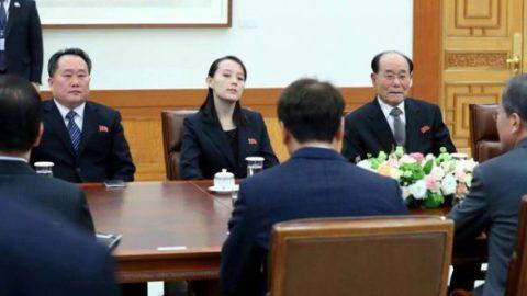 رئیس جمهور کره جنوبی با خواهر کیم جونگ اون دیدار کرد