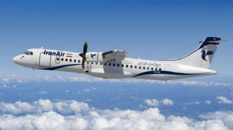 هواپیمای ATR72 مسیر تهران – شاهرود در شاهرود فرود نیامد