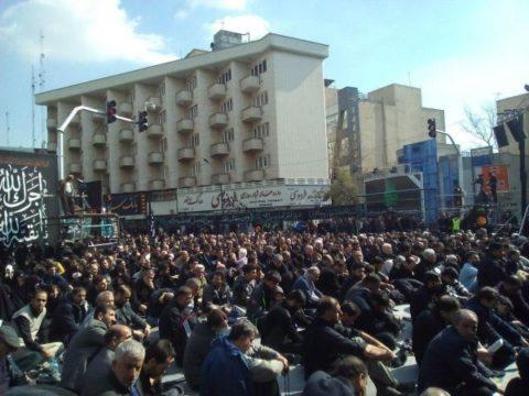 اجتماع عظیم عزاداران فاطمی در کشور/عکس