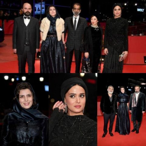 """چرا بازیگران فیلم سینمایی """"خوک"""" در فستیوال برلین، سیاه پوشیدند؟"""