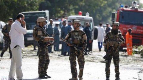 انفجار انتحاري در کابل