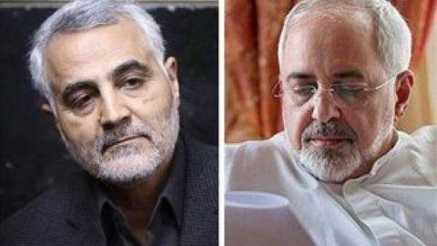 تحویل اسناد همکاری آمریکا با داعش از سوی سردار سلیمانی به ظریف