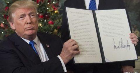 ترامپ برای به رسمیت شناختن کشور فلسطین شرط گذاشت